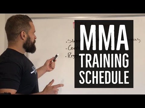Training Schedule for MMA Fighters | FightCampConditioning