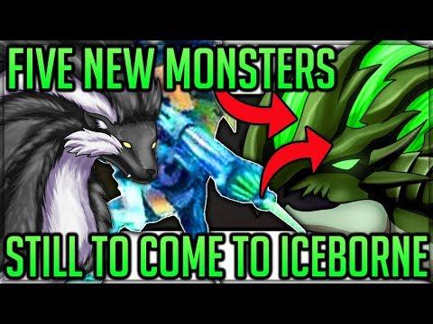 5 New Monsters Coming to Iceborne - Astalos/Khezu/More - Monster Hunter World Iceborne! (Discussion)
