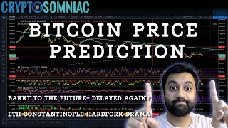Bitcoin Price Prediction | Bakkt Delayed Again? | ETH Constantinople Hardfork