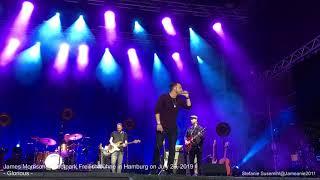 James Morrison *Glorious*@Stadtpark Freilichtbühne/Hamburg on July 29, 2019