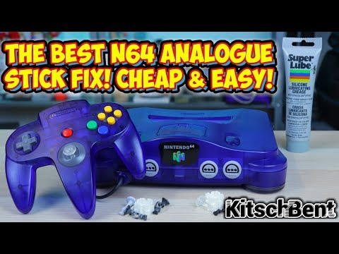 The BEST Nintendo 64 Analogue Stick Fix! Kitsch Bent Joystick Parts Install!