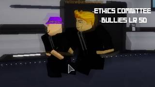 scpf roblox security getting bullied by ethic committee
