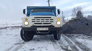 Запуск ЗИЛ 130 дизель андория 6,5 после одного месяца простоя_ Launch of the ZIL 130 diesel