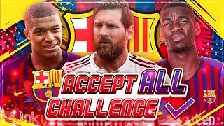 JEDES TRANSFERANGEBOT MIT DEM FC BARCELONA AKZEPTIEREN!! 🔥😱🏆 FIFA 19 Barcelona Karriere Challenge