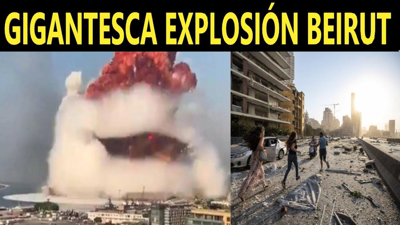 Dos Explosiones en Beirut