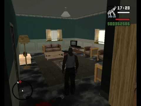 Gta san andreas hidden interiors part 1 ganton hell youtube for Gta sa plane interior mod