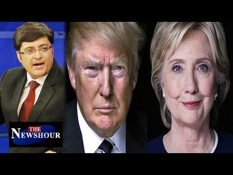 Donald Trump or Hillary Clinton - Who's BEST for India?: The Newshour Debate (4th Aug 2016)