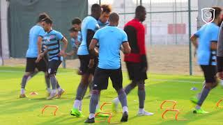 الدحيل يخوض تدريبه الرئيسي لمباراة نادي قطر في الدوري