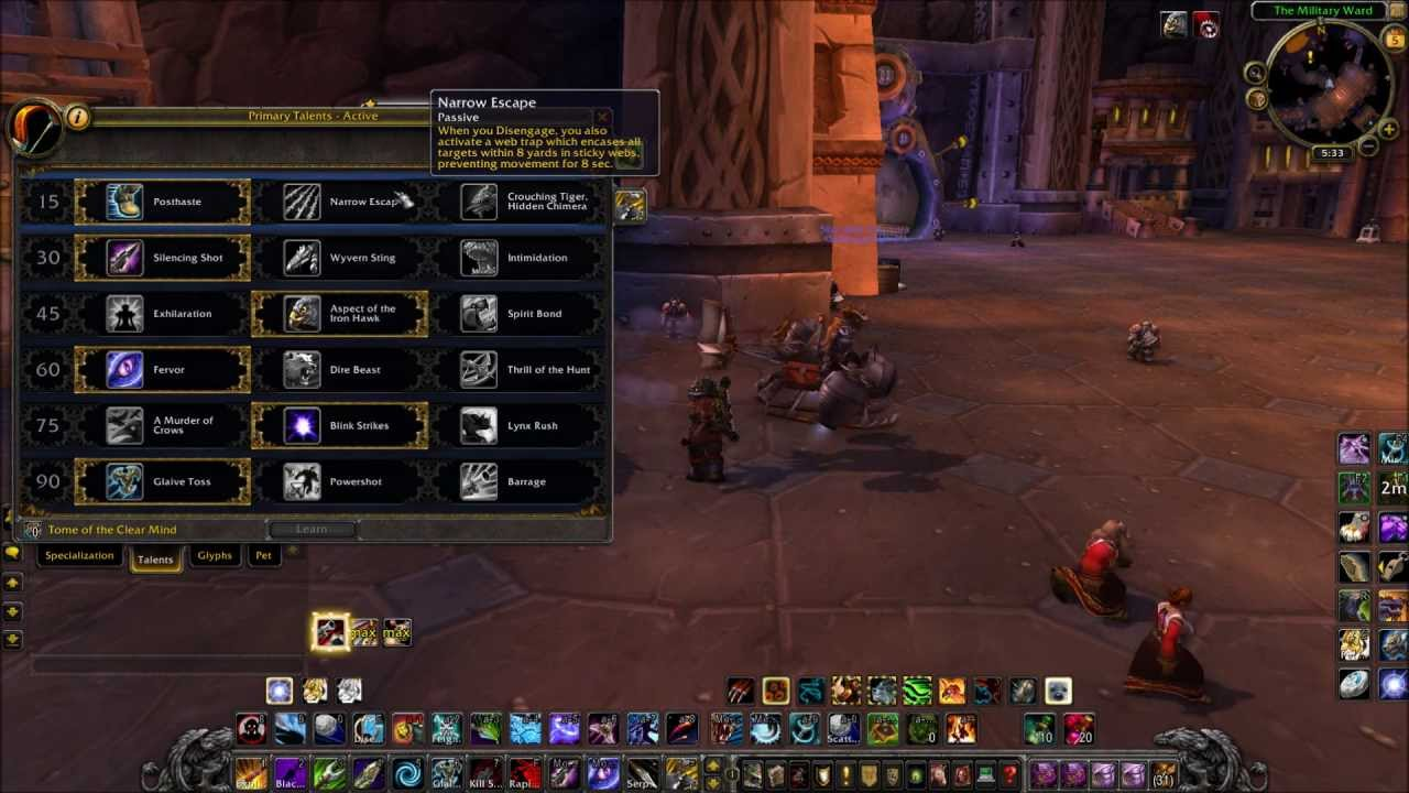 World of warcraft mop survival hunter pve guide 5 3 5 for Wow portent 5 4