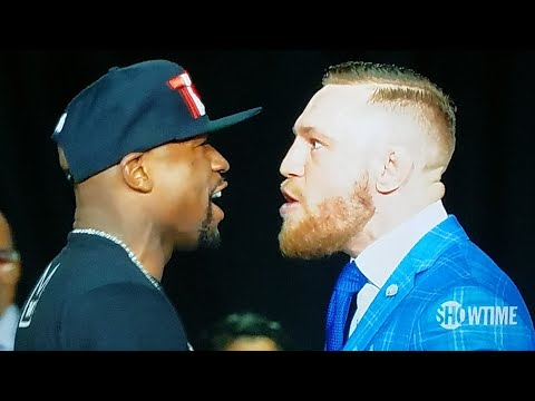 CONOR McGREGOR TAKES FLOYD MAYWEATHER'S SOUL! MAYWEATHER McGREGOR TORONTO PRESS CONFERENCE REVIEW!
