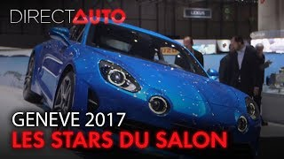 GENEVE 2017 : LES STARS DU SALON !