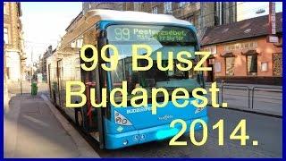 99-es Busz BKV. (Traffic Camera) Budapest.  2014.