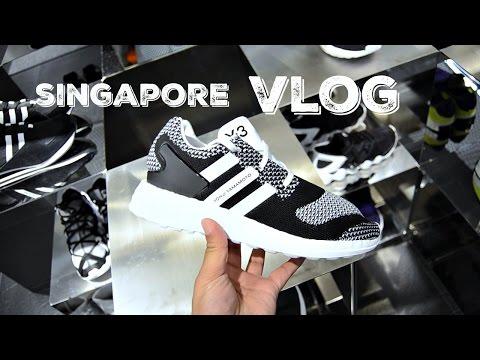 VLOG #16 SINGAPORE TRIP AFC CUP BAPE Y3