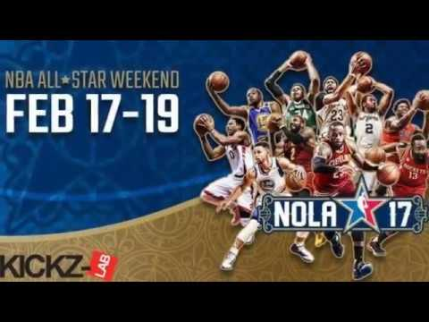 NBA All Star weekend 2017 exclusive highlights by Kickz-Lab *AI greeting east starter