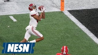 Alabama Wins National Title On Tua Tagovailoa's Unbelievable Touchdown Pass