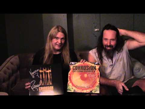 "Corrosion of Conformity discuss Vinyl Reissues (""Blind"" & ""Deliverance"")"
