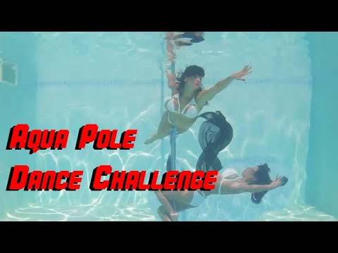 Challenge by Pool of Lust: Underwater Pole Dance  Aqua Pole