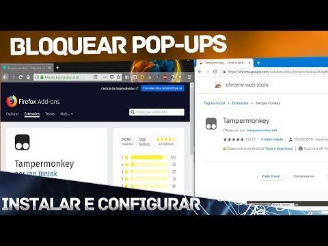 Bloquear Pou-up Greasemonkey e Tampermonkey + AdBlock Plus