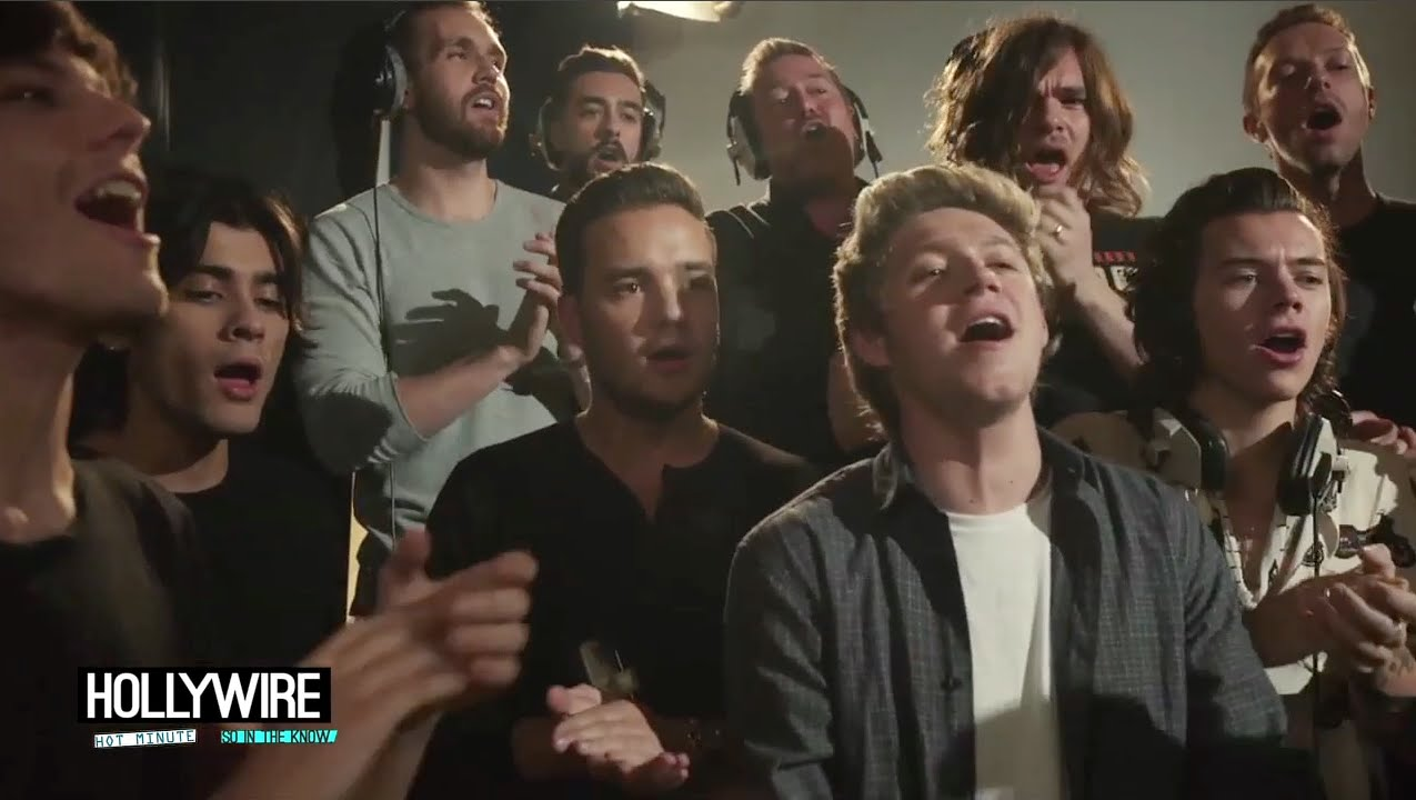 One Direction & Ed Sheeran – 'Do They Know It's Christmas ...