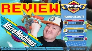 Toybox Turbos (HD PC STEAM) Video Game Review