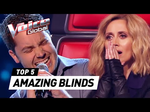 AMAZING Blind Auditions in The Voice worldwide PART 2  The Voice Global