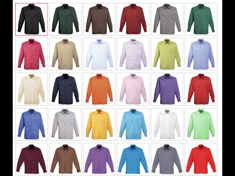 Review of a range of coloured shirts from Universal Textiles