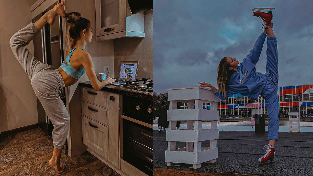 Download Real-life Elastigirl😱 With Crazy Flexibility - belitskay