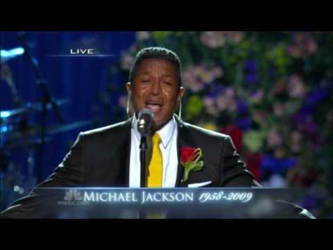 Jermaine Jackson  Smile HD  Performance at Michael Jackson Memorial