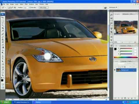 How to make Carbon fiber parts on photoshop