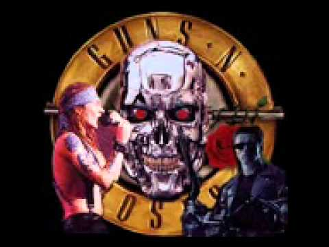 GunsnRoses – You Could be Mine – Instrumental Cover