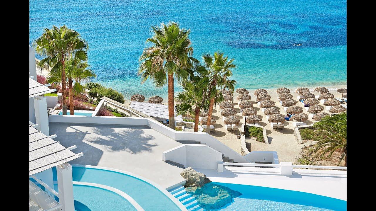Best Island Beaches For Partying Mykonos St Barts: Luxury Hotel In Mykonos, Grecotel Mykonos Blu 5 Star Hotel
