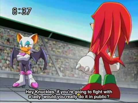 Knuckles VS Rouge