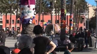 Yarn Bombing - Intrecci Urbani - Genova 21 marzo 2013