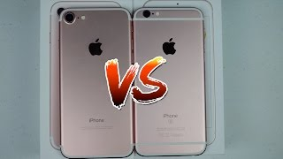IPHONE 7 VS IPHONE 6S - JULIA SILVA (FT. PAPAI SILVA)