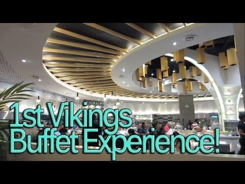 FIRST VIKING'S BUFFET EXPERIENCE! October 4, 2013 Vlog  makeupbykarlamisa