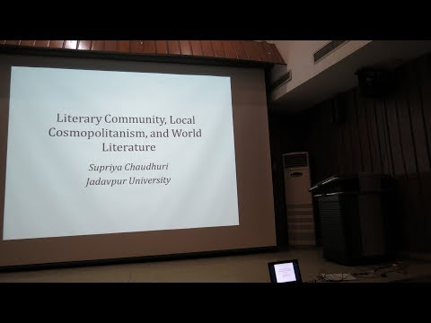 Literary Community, Local Cosmopolitanism, and World Literature