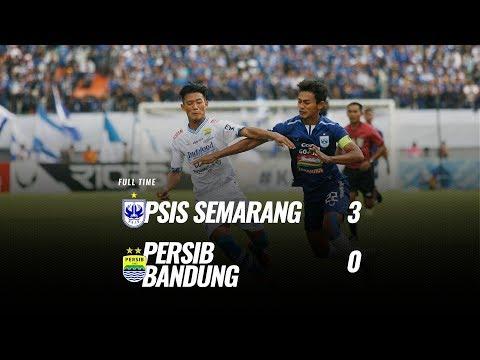 [Pekan 31] Cuplikan Pertandingan PSIS Semarang Vs Persib Bandung, 18 November 2018
