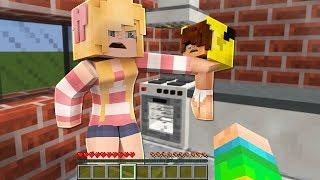ISMETRG'NİN KARISI BEBEĞİ DÖVÜYOR! - Minecraft