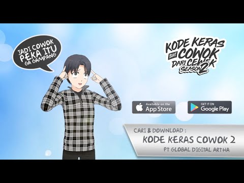 kode keras cowok 2 - back to school hack
