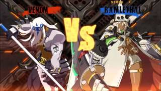 Guilty Gear Xrd : Sign PC full HD Max Settings 60FPS [GTX 870M] Ramlethal Gameplay