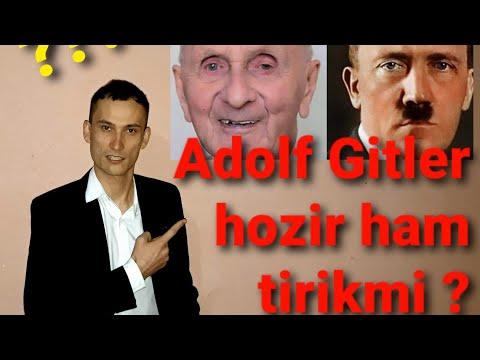 Adolf Gitler Hozir Ham Tirikmi?