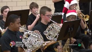 White Oak Middle School Holiday Band Concert: December 8 ,2016
