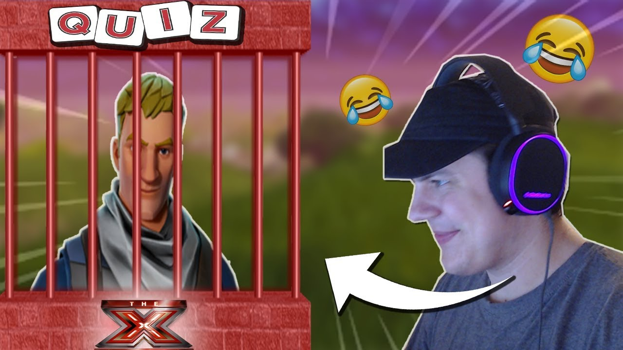 JAIL I FORTNITE #3 (X-FACTOR, QUIZ!?)