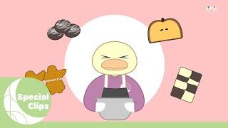 [Special Clips] 청하의 쿠키 만들기