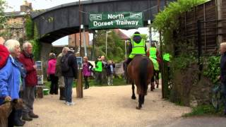 North Dorset Trailway: Blandford - Stourpaine official opening