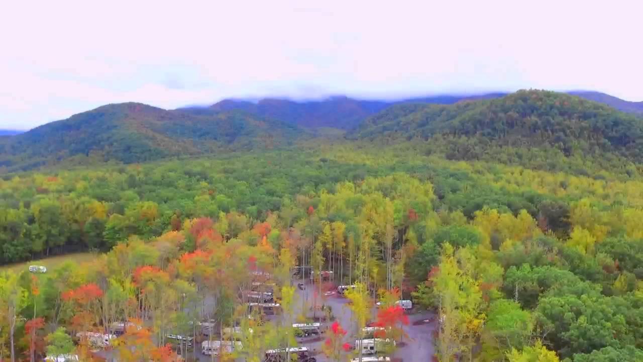 smoky mountain premier rv resort footage - youtube