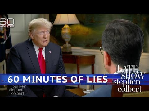 Stephen's Interview Of Donald Trump's '60 Minutes' Interview