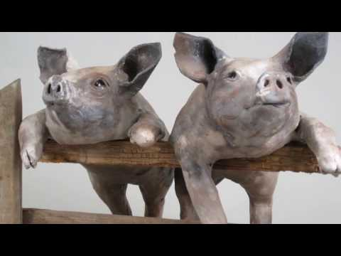 Ceramic Animal sculpture for decor living room | Home Accessories, Statues & Figurines