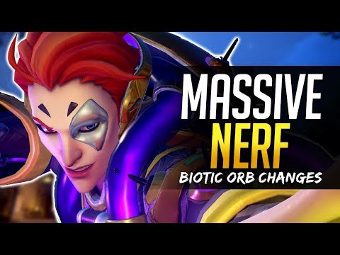 Overwatch MASSIVE MOIRA NERF - Biotic Orb Changes