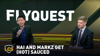 Hai and MarkZ Get (Hot) Sauced on the Analyst Desk